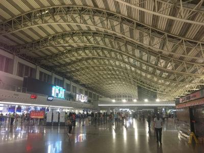 成都双流国際空港に宿泊してみた!(中国)