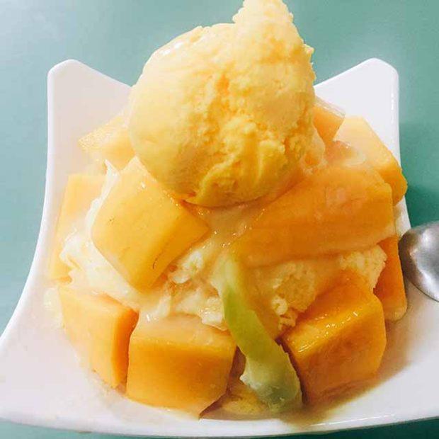 阿月芒果冰(台南)